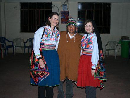 Puno Family in Peru
